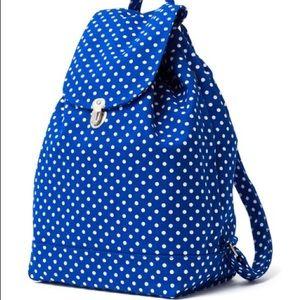 Baggu Blue Polka Dot Backpack 💙